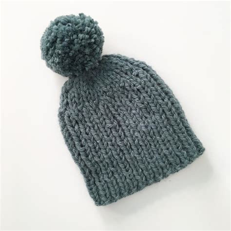 simple bobble hat knitting pattern knit and purl patterns for beginner knitters