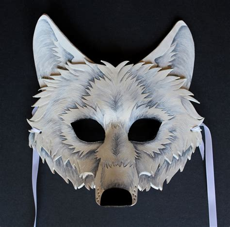 How To Make A Wolf Mask Out Of Paper - pin printable wolf mask pictures on