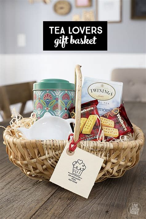 tea gift basket for the tea lover live laugh rowe