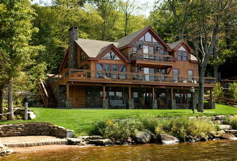 waterfront home plans and designs lakefront cabin floor plans lake front home designs pics