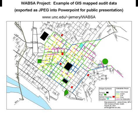 gis maps wabsa exle of gis mapped data