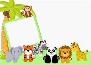 Scrapbook Album Kits Fondos Para Invitaciones De Baby Shower De Animales Imagui Bautizo Aldo
