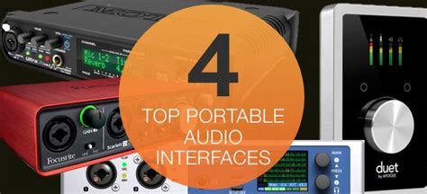 best portable audio interface four great portable audio interfaces ask audio