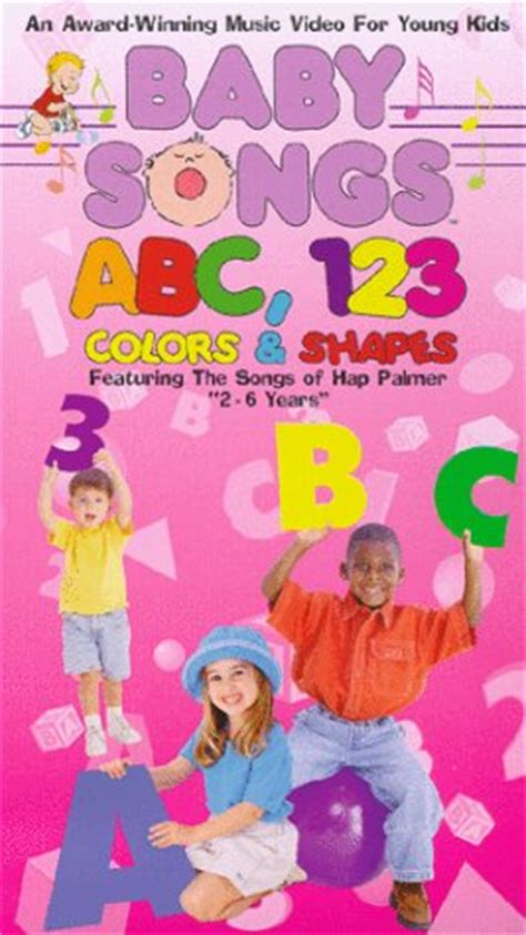 baby songs abc 123 colors and shapes dvd store genres family educational