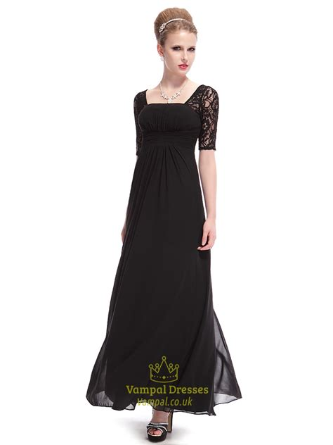 black homecoming dresses with sleeves long black prom dresses 2015 black prom dresses with lace