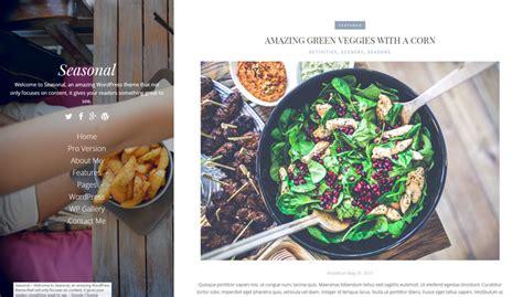 theme blog food 84 templates wordpress per blog di cucina e ricette 3a