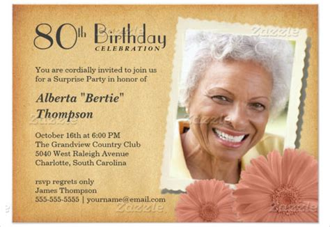 free invitations for 80th birthday 26 80th birthday invitation templates free sle