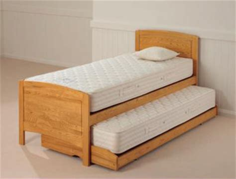 best guest bed relyon deluxe guest bed golden oak finish buy online at