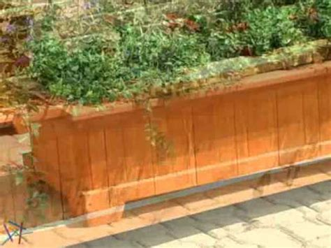 Wooden Planter Boxes Bunnings by How To Build A Planter Box Diy At Bunnings How To Make Do Everything