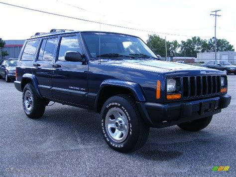 2000 patriot blue pearl jeep sport 4x4 16461359 gtcarlot car color galleries
