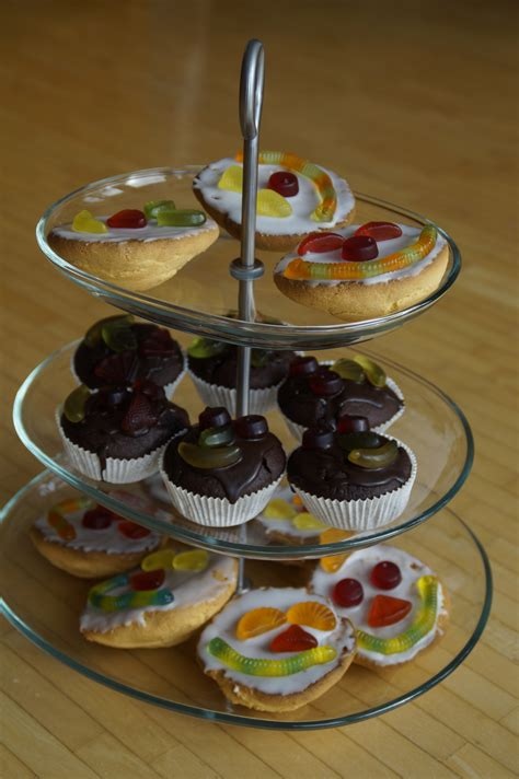 Etagere Muffins by Free Images Sweet Decoration Meal Food Produce