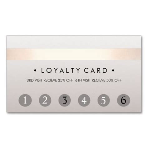 client loyalty card template salon 6 punch customer loyalty card lash