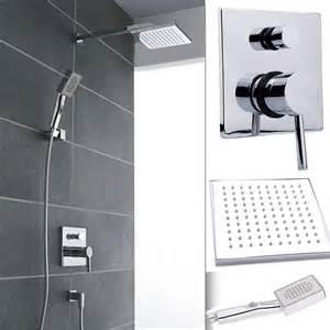 dusch amaturen w68 regendusche komplett set regenbrause unterputz