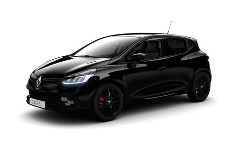 renault clio black black edition adds subtle style to renault clio rs carbuyer