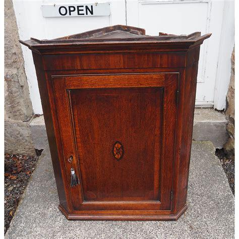Mahogany Cupboard - georgian oak mahogany corner cupboard la91163