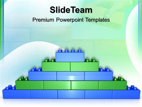 Giant Building Blocks Powerpoint Templates Lego Brick Wall Construction Ppt Slides Template Building A Powerpoint Template