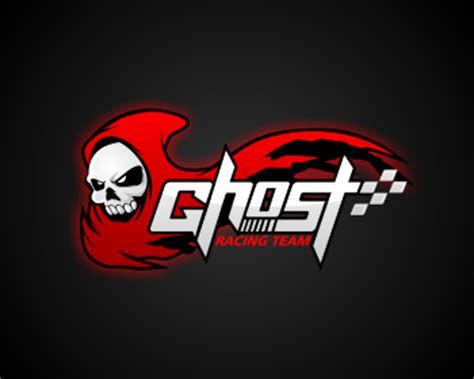 design logo racing team logo 75 created by masjacky wettbewerb ghost racing team