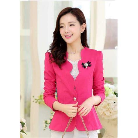 Blazer Wanita Korea blazer wanita korea t2464 moro fashion