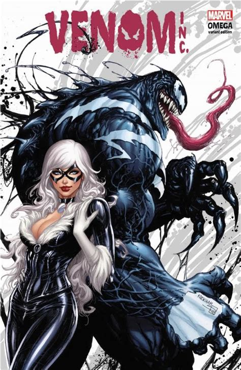 Alpha Venom 3 White Black amazing spider venom inc omega 1 kirkham cover a black cat variant
