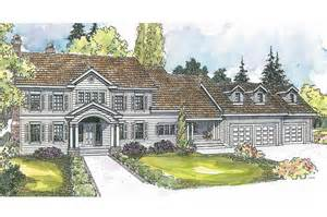Colonial House Plan Colonial House Plans Princeton 30 497 Associated Designs