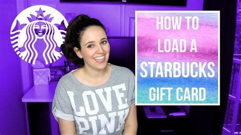 How To Load Starbucks Gift Card - how to load a starbucks gift card how to load the starbucks app starbucks app
