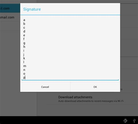 layoutinflater factory android how to keep dialogfragment positive negative