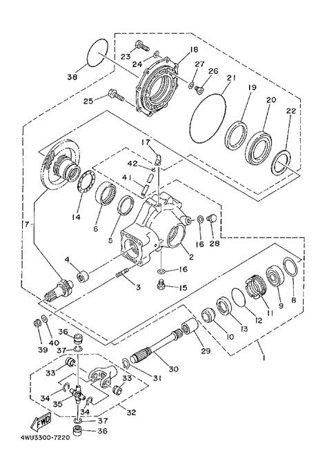 yamaha 350 big wiring diagrams repair wiring scheme