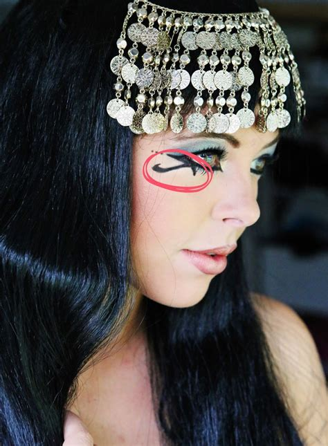 tutorial makeup cleopatra 17 best images about cleopatra costume ideas on pinterest