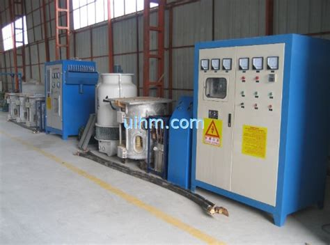 induction heating using scr kgps induction furnace um 2000kw scr mf with aluminum furnace united induction heating machine