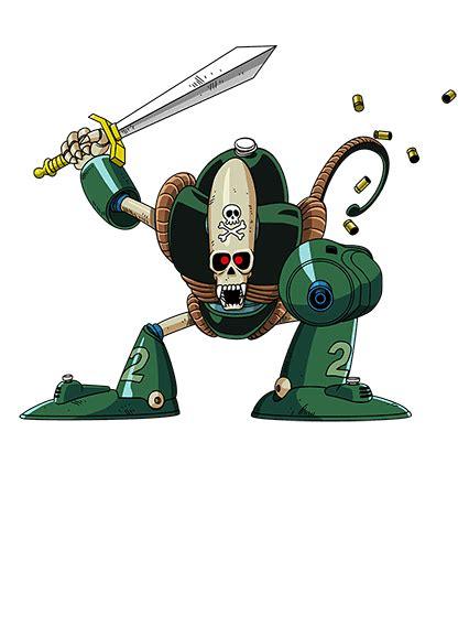 imagenes de goku robot deep sea guardsman pirate robot teq n game cards