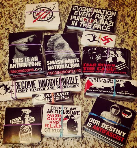 Antifa Aufkleber by Antifa Sticker Packs Restocked On Shirts And Packs
