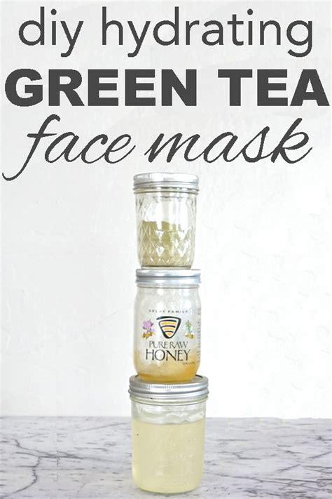 diy hydrating mask going zero waste diy hydrating green tea mask