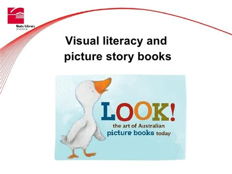 visual literacy and picture story books