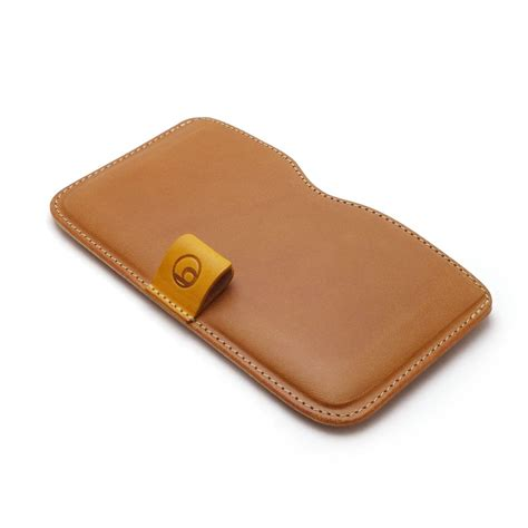 Handmade Leather Cases - buzzhouse design handmade leather for iphone 6 plus