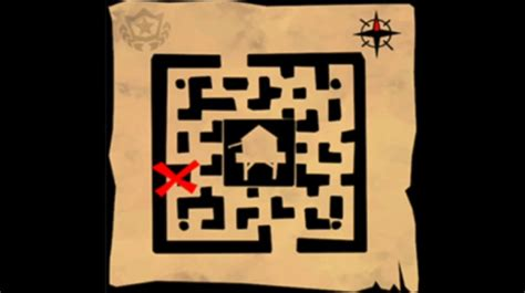 fortnite treasure map fortnite retail row treasure map and wailing woods