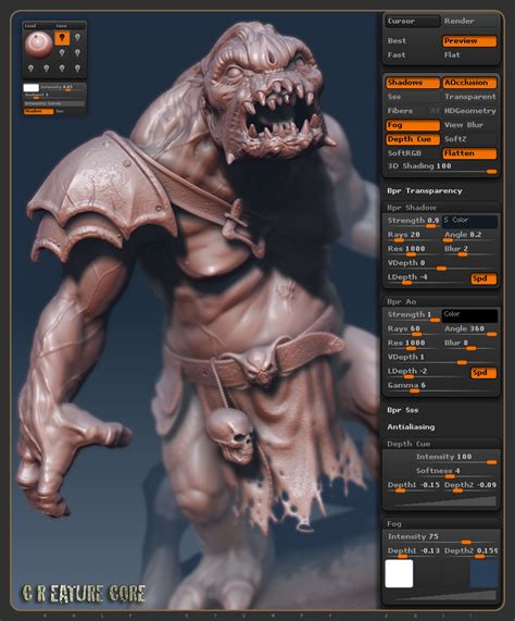 zbrush bpr tutorial ralf stumpf workshow 2011 page 2
