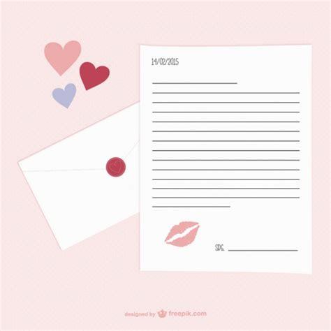 Exemple De Lettre St Valentin Jour Lettre Le Mod 232 Le De Valentin T 233 L 233 Charger Des Vecteurs Gratuitement