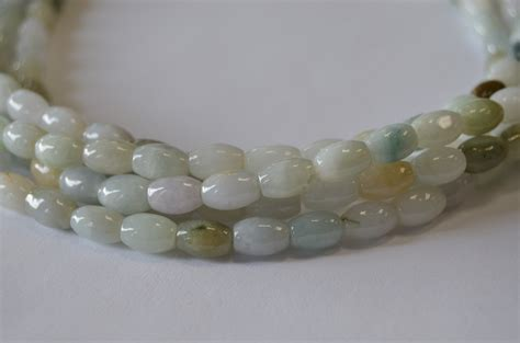 bead world palatine jade barrel shape measure 8mm x 6mm 15 5 inches