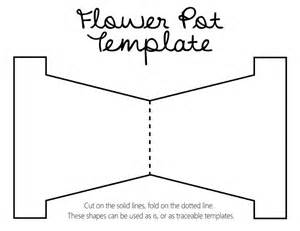 flower pot template karewares diy revisited s day flower pot with