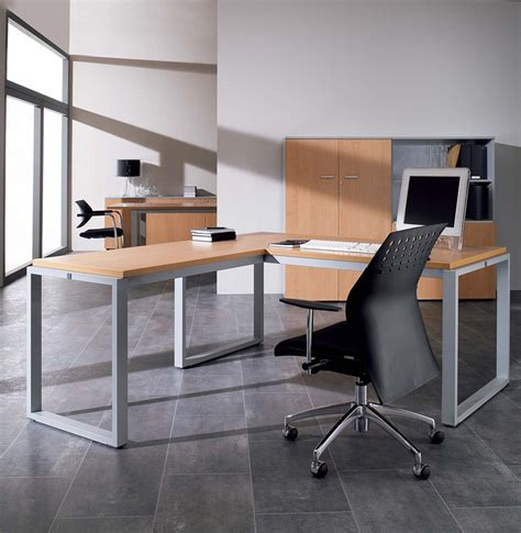bureau d 騁udes structure bureau d angle en bois structure acier ofo 008 gd office