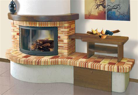 camini rivestiti in legno rivestimento caminetti in mattone