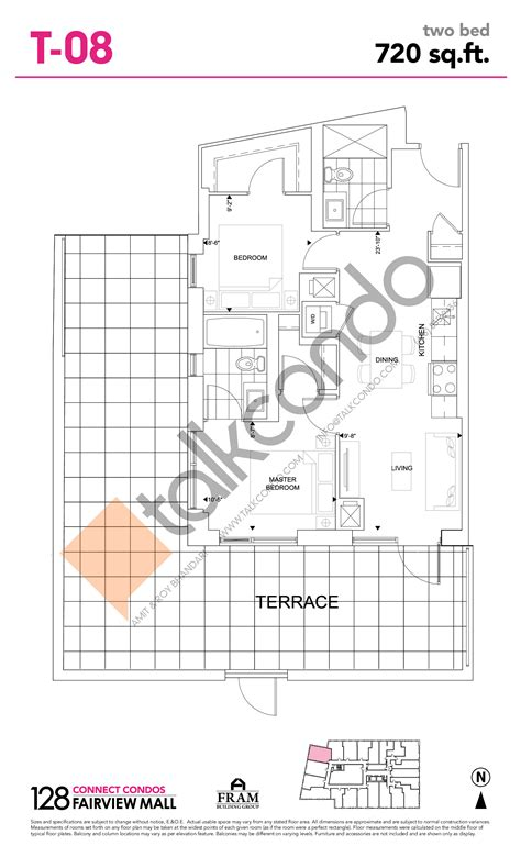 fairview mall floor plan 128 fairview mall connect condos talkcondo