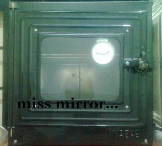 Oven Hitam Butterfly mana nak cari miss mirror
