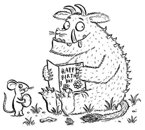 The Gruffalo Colouring Pages Pin Gruffalo Characters Colouring Pages On Pinterest by The Gruffalo Colouring Pages