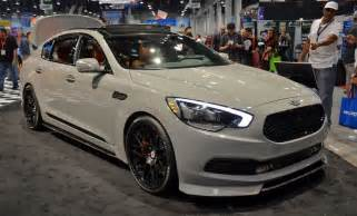 Performance Kia Sema High Performance Kia K900 Offers Power And