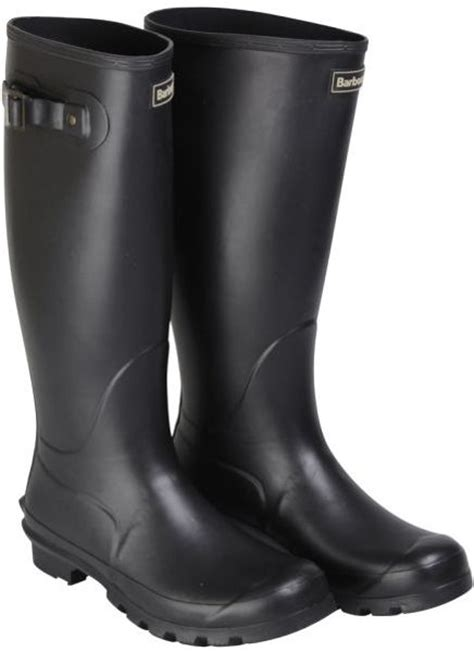 mens black leather wellington boots barbour mens classic wellington boots in black for lyst