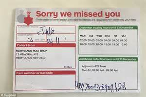 we design your home australia post driver on not bothering