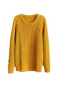 mustard color sweater mustard cable knit sweater