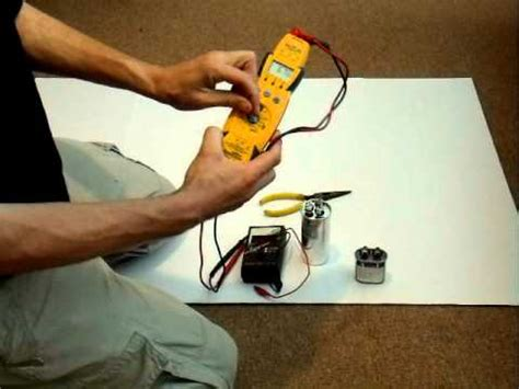 how to test a capacitor o n boiler how to test the capacitor on your heating ac system
