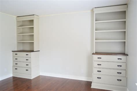 How To Build A Corner Desk From Scratch Installing Bedroom Built Ins Young House Love